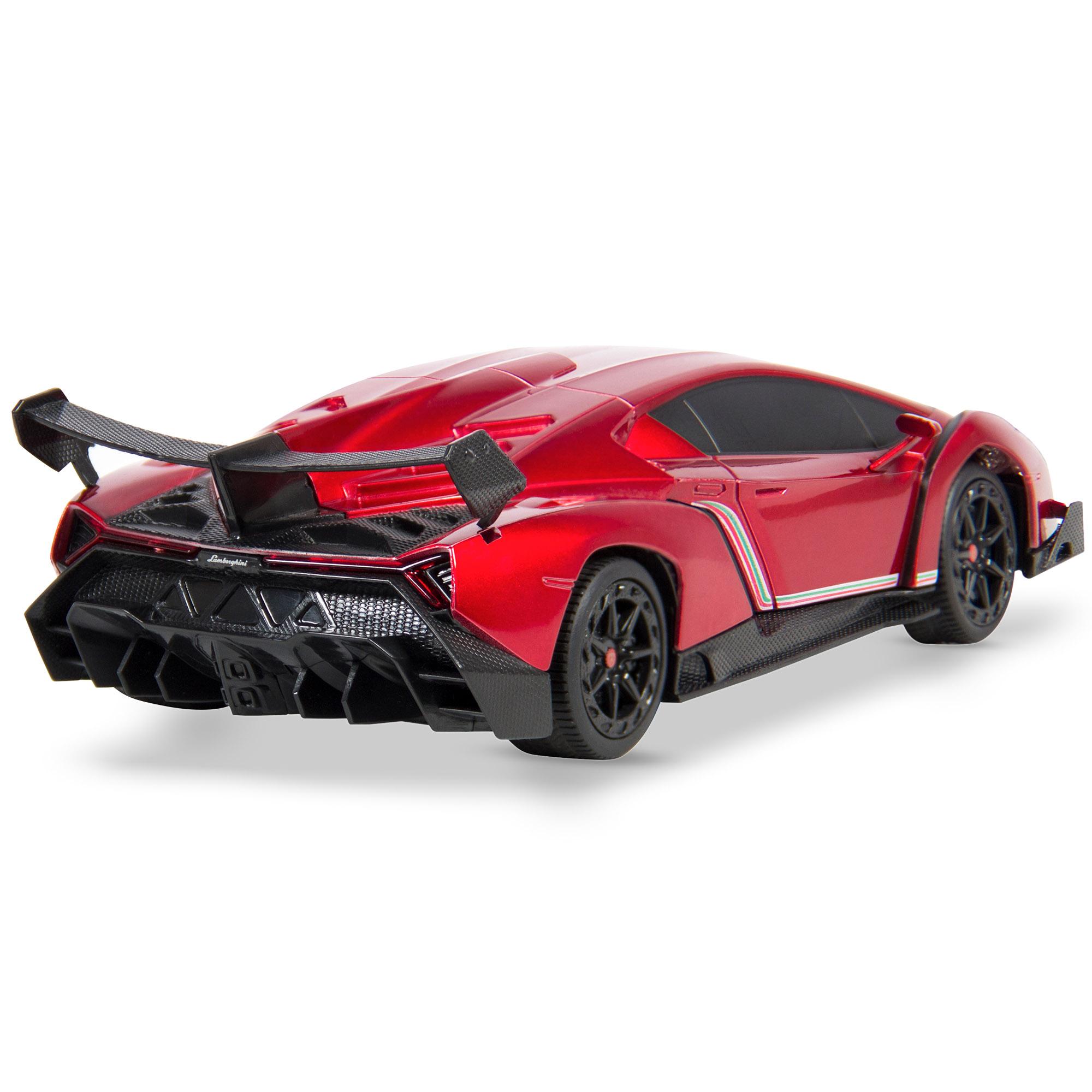 BCP-1-24-Kids-RC-Lamborghini-Veneno-Racing-Car-Toy-w-Lights-Shock-Suspension thumbnail 17