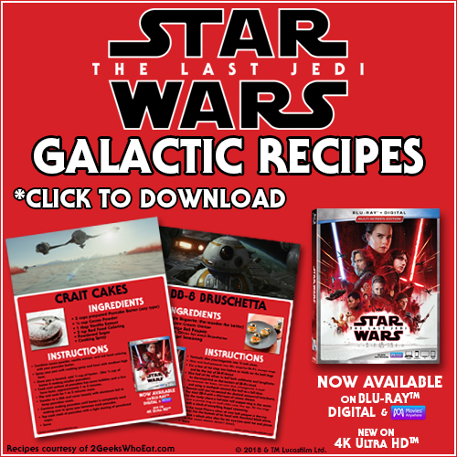 Star Wars Recipe Button