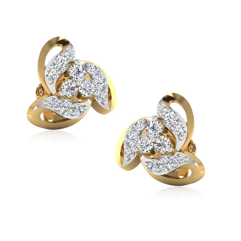 The True Love Diamond Stud Earrings