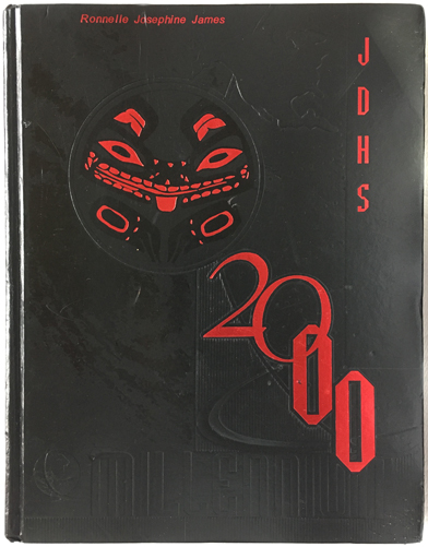 For sale: original JDHS yearbook from Juneau, Alaska.               Class of 2000.