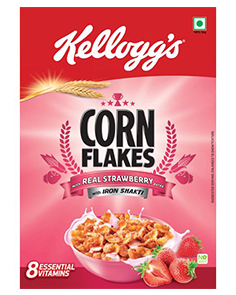 Kellogg's Cornflakes Strawberry 275 g