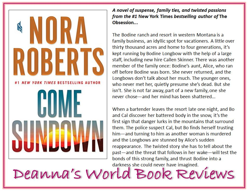 Come Sundown by Nora Roberts blurb