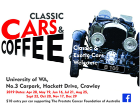 Classic Cars and Coffee Perth - August 2019
