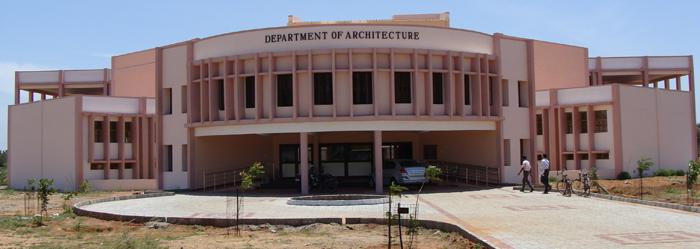 Departmentof Architecture, National Institute of Technology, Tiruchirappalli