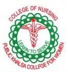 College of Nursing Public Khalsa College for Women, Hoshiarpur