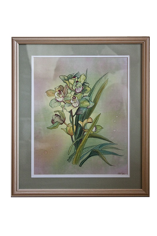 Image of orchid painting