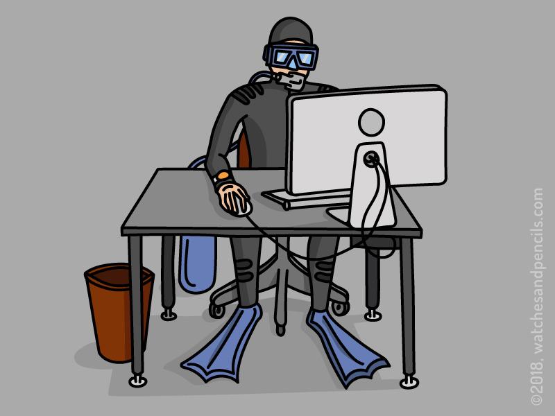 Desk Diver