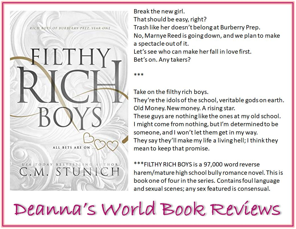 Filthy Rich Boys by C M Stunich