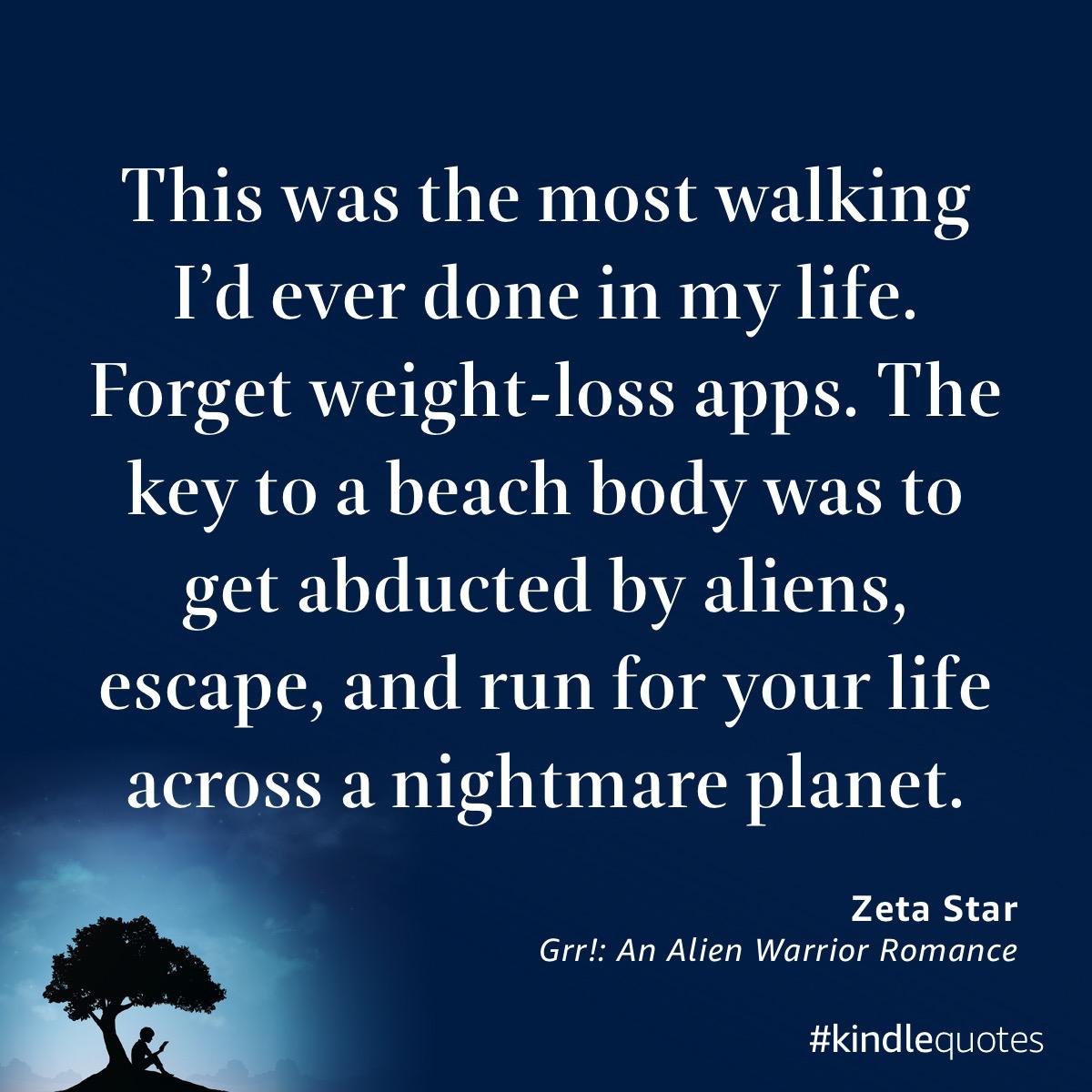 Book quote Zeta Star