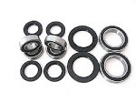 Combo-Pack! Front Wheel Plus Rear Axle Bearings and Seals Kits Honda TRX400EX 1999-2001