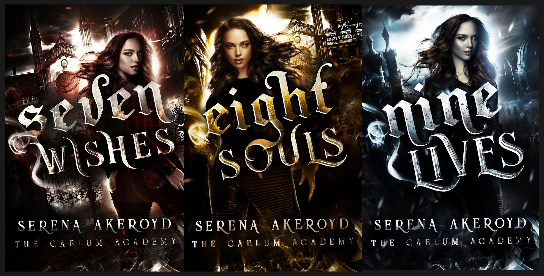 The Caelum Academy Trilogy by Serena Akeroyf