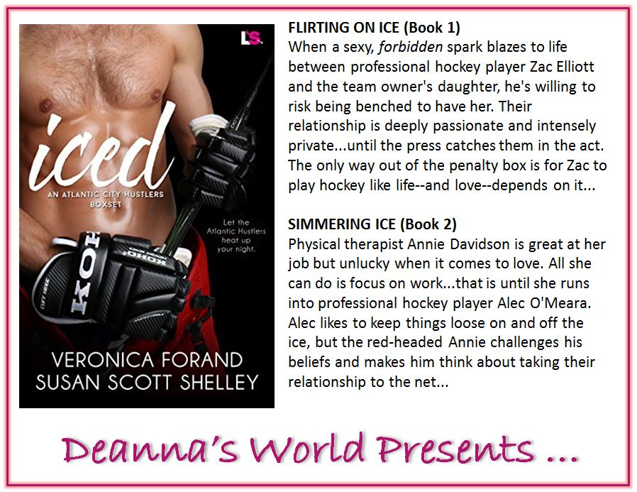Iced by Veronica Forand and Susan Scott Shelley blurb