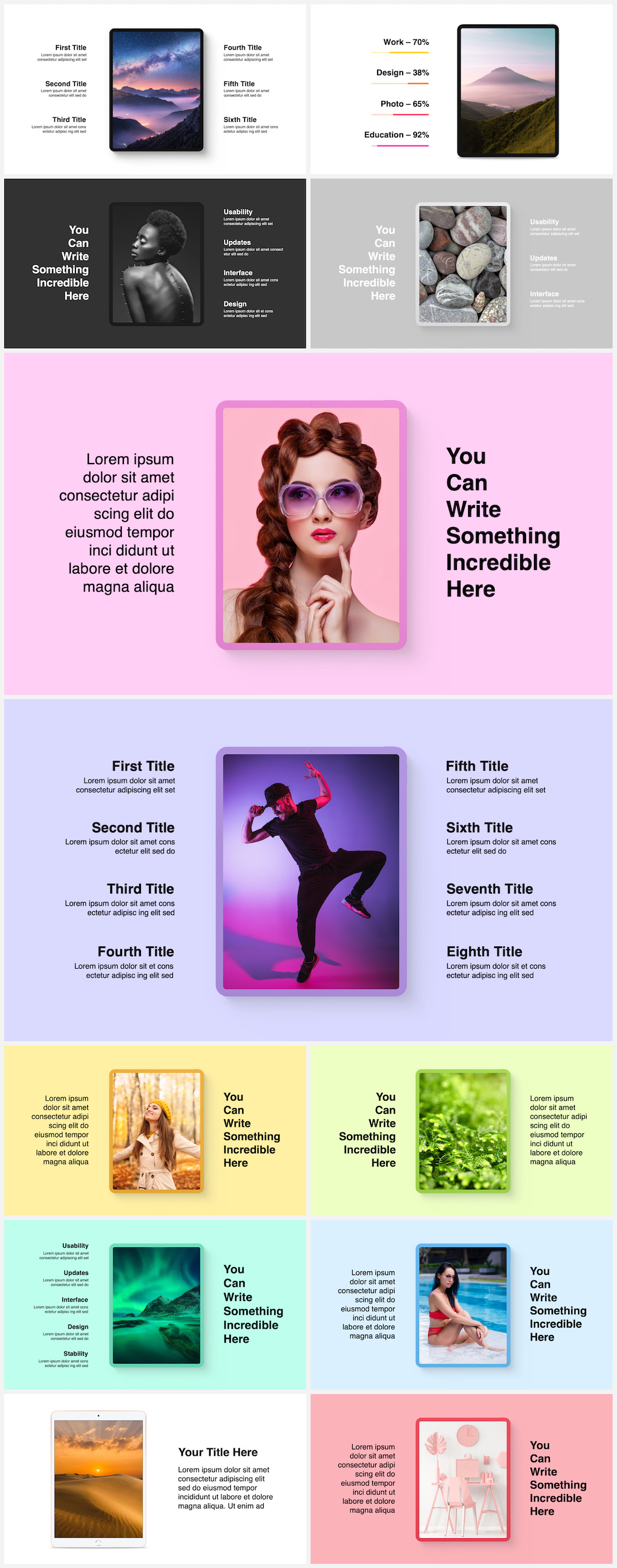 Huge Infographics Bundle! Lifetime Updates! PowerPoint, Photoshop, Illustrator. - 83