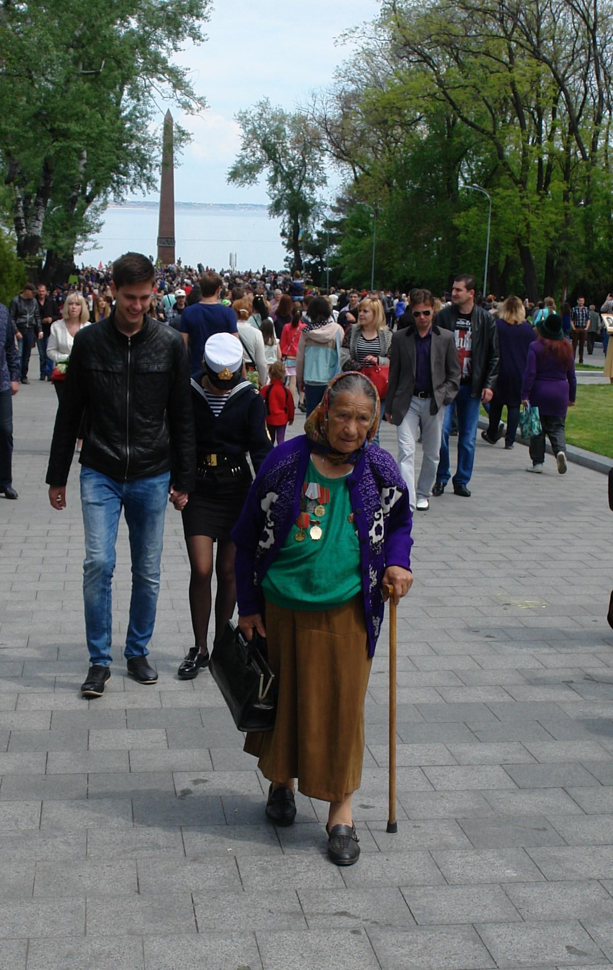 Одесса. 9 Мая 2016 года. Аллея Славы.