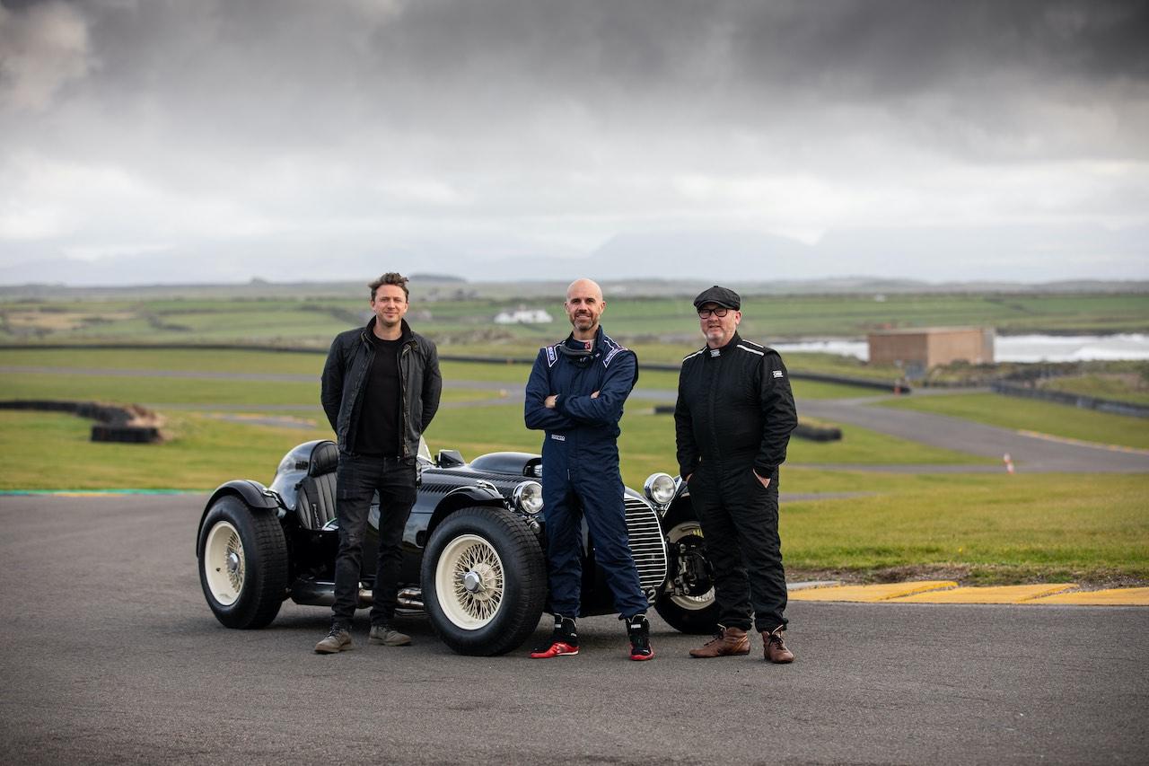Three Men Four Wheels Exclusive Interview
