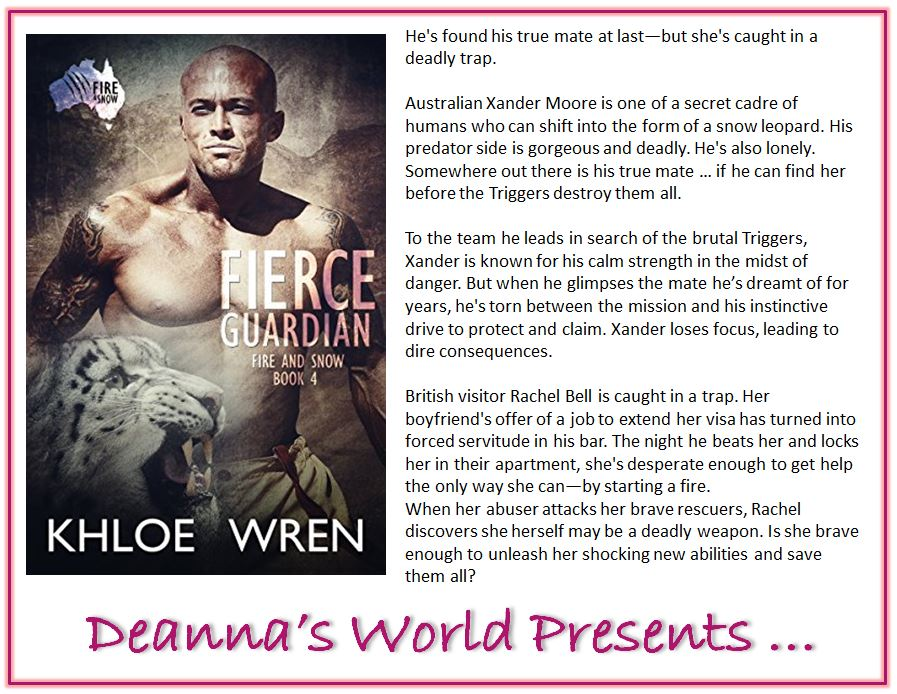 Fierce Guardian by Khloe Wren blurb