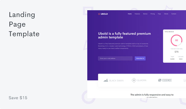 Ubold - Admin & Dashboard Template - 3