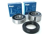 Premium Rear Wheel Bearings and Seals Kit Honda GL1500 Valkyrie 1997-2003
