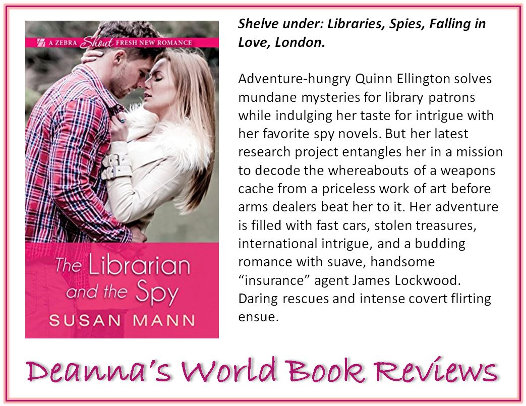 The Librarian and The Spy by Susan Mann blurb