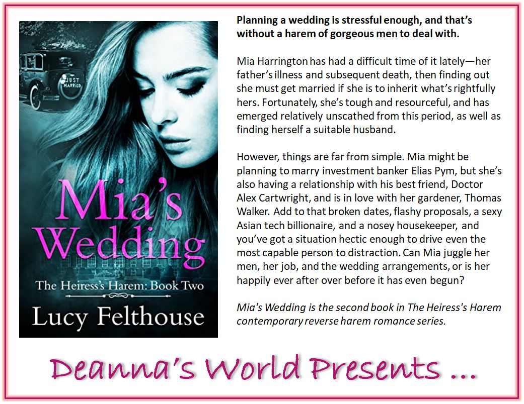 Mia's Wedding by Lucy Felthouse blurb