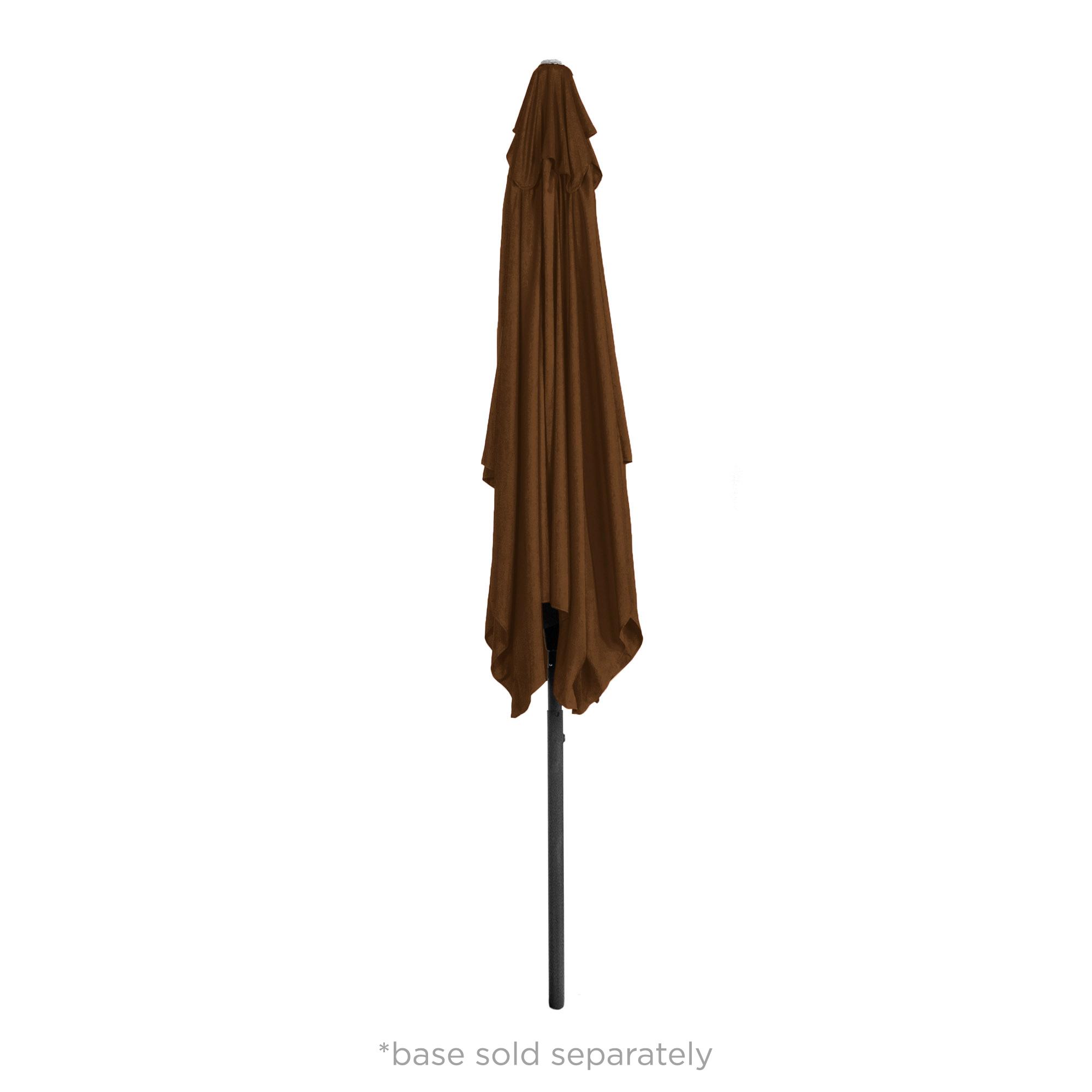 BCP-8x11ft-Rectangular-Patio-Umbrella-w-Easy-Crank-UV-Resistant-Fabric thumbnail 13