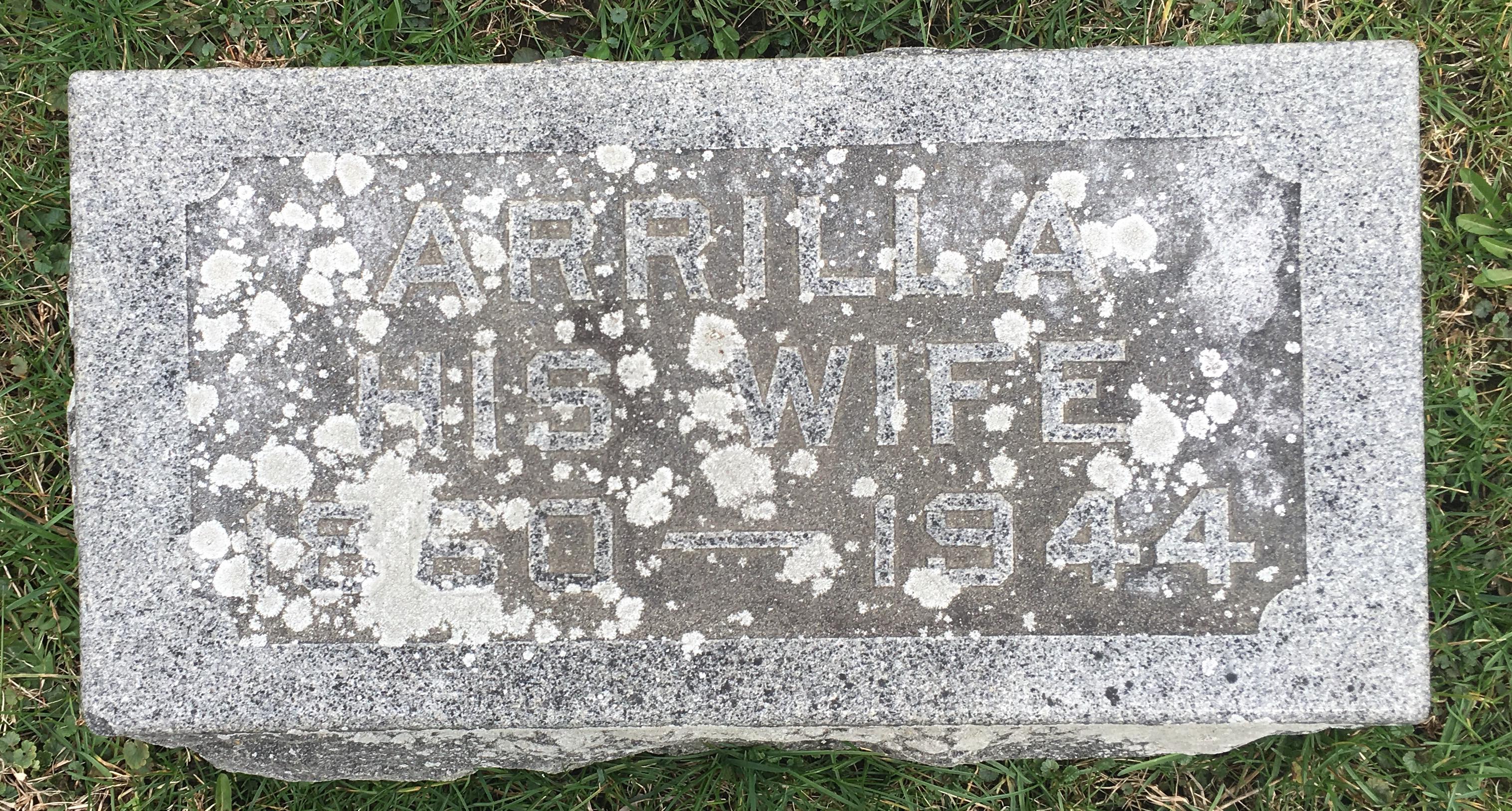 Arilla Compton Johnson Gravestone