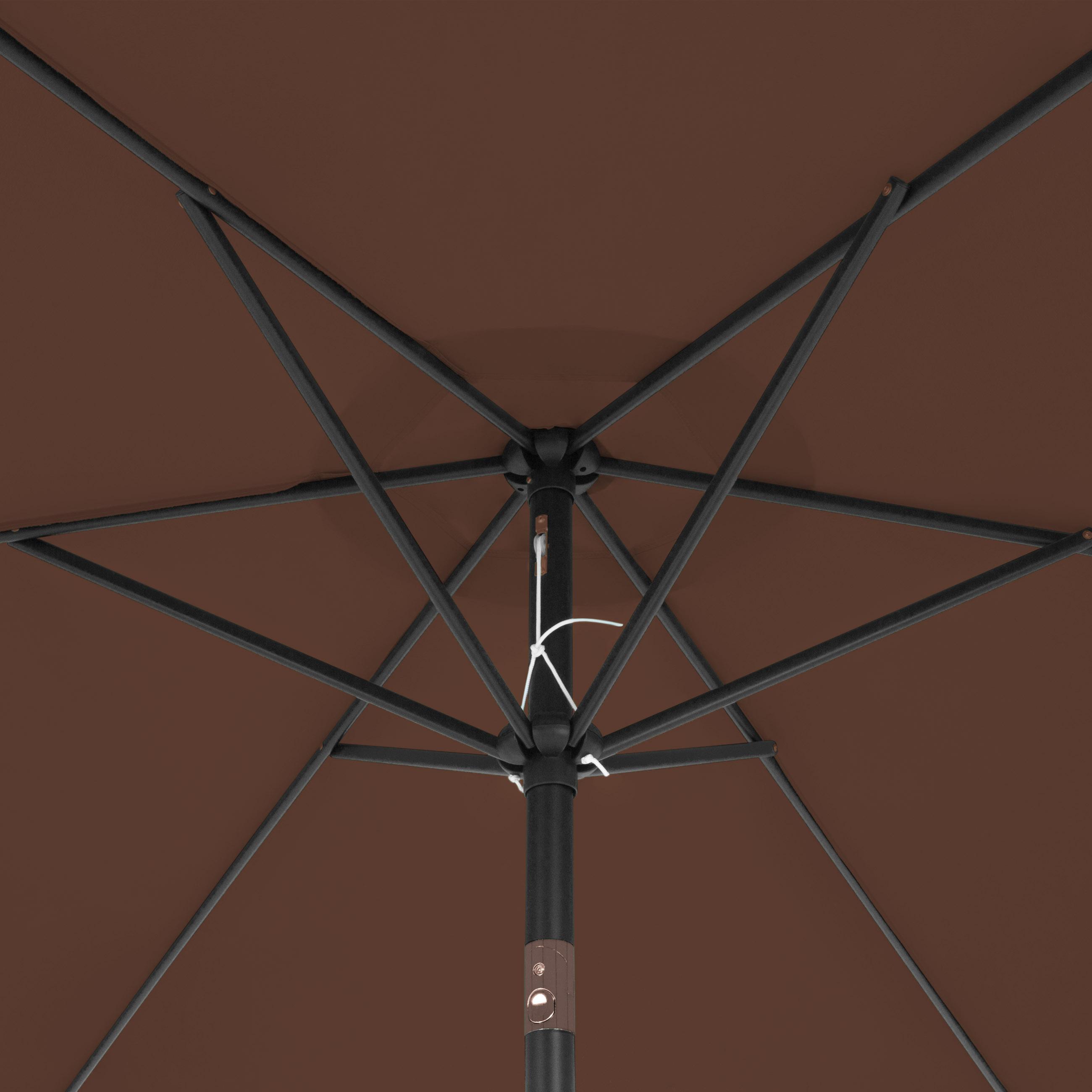 BCP-10ft-Outdoor-Steel-Market-Patio-Umbrella-Decoration-w-Tilt-Crank thumbnail 19