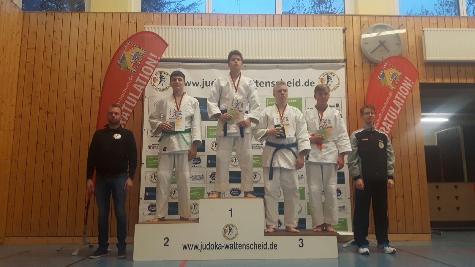 3.Platz Florian Kytzia Klasse+66 kg