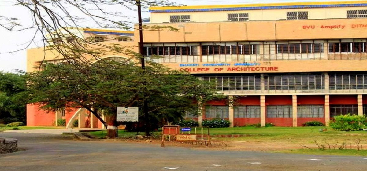 Bharati Vidyapeeth Deemed University's College of Architecture, Pune