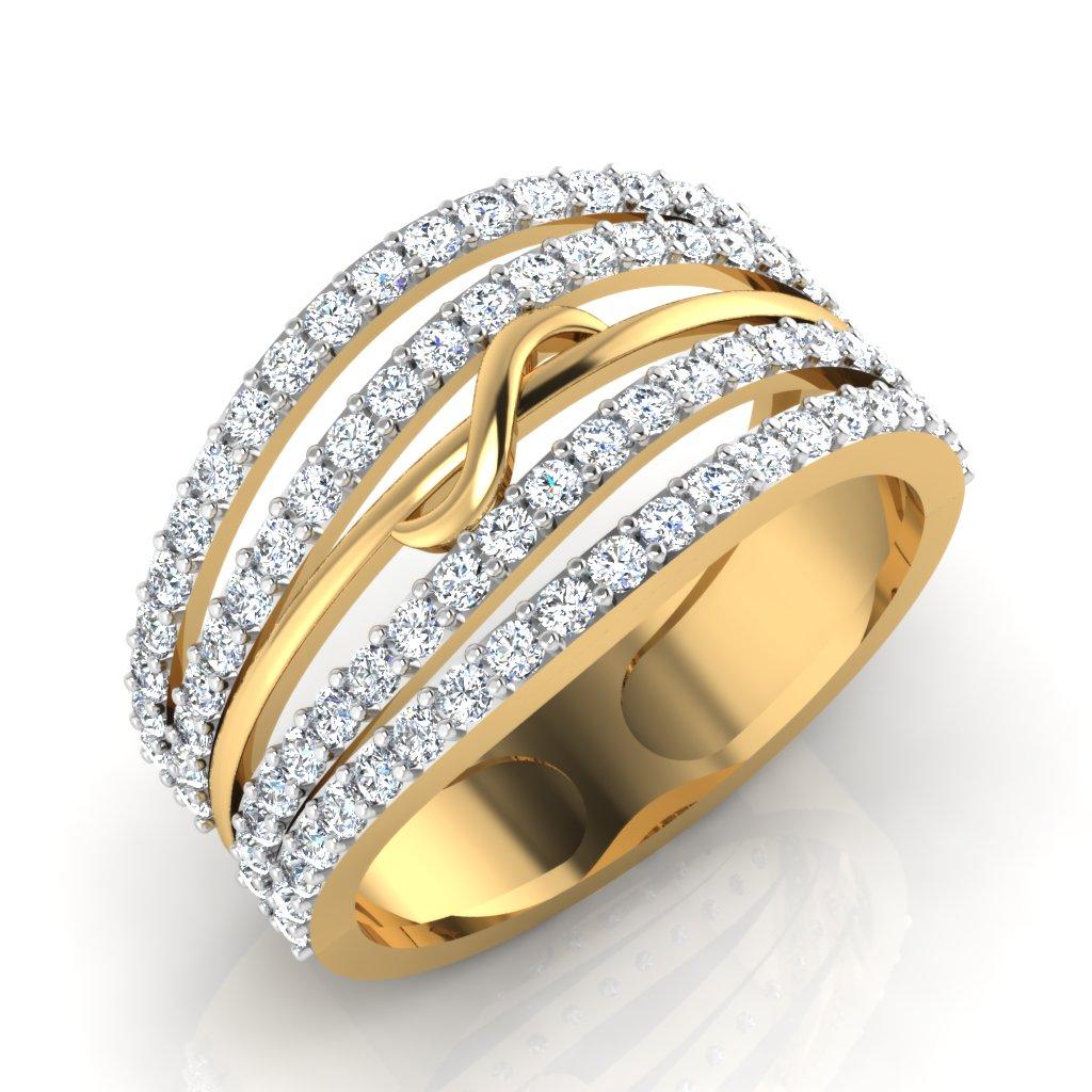 The Cygna Diamond Ring