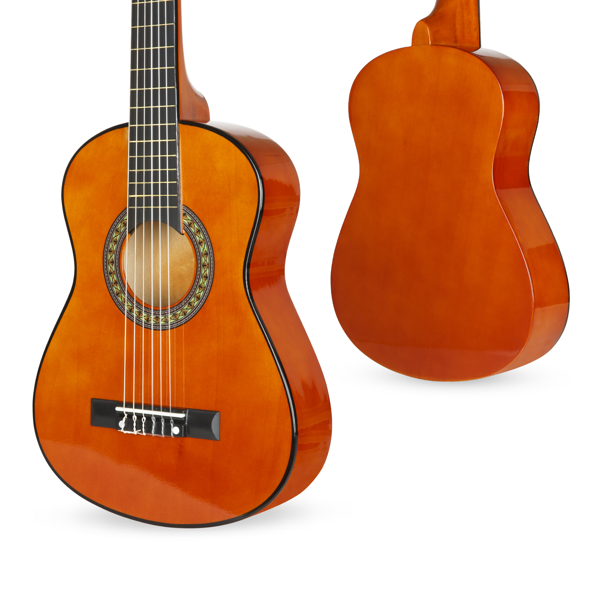 bcp 30in kids classical acoustic guitar beginners set w bag e tuner strap ebay. Black Bedroom Furniture Sets. Home Design Ideas