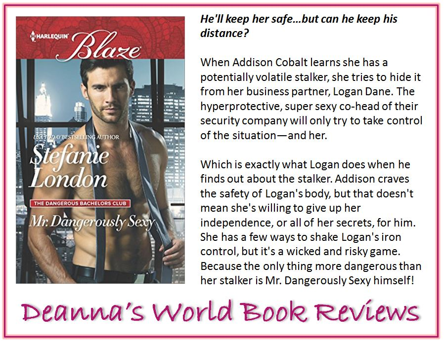 Mr Dangerously Sexy by Stefanie London blurb