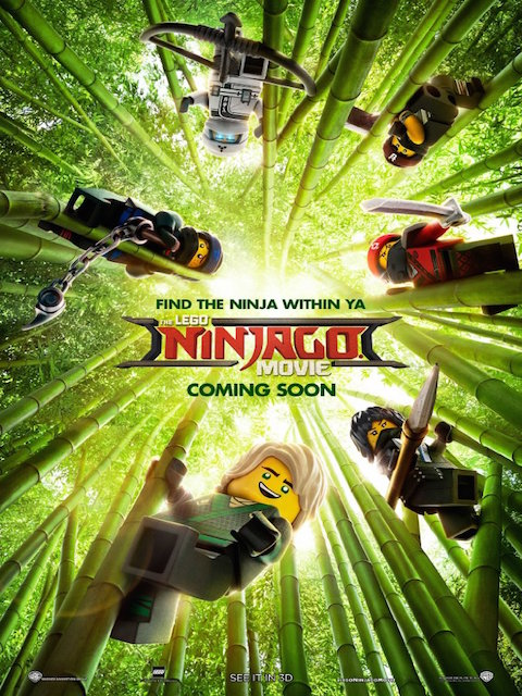 The lego ninjago movie affiche 991028