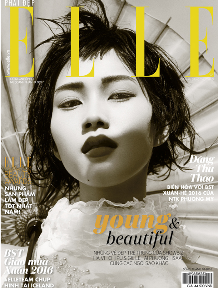 Elle Vietnam, January 2016