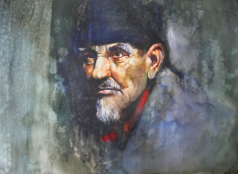 Alexandr Karpan Acuarela