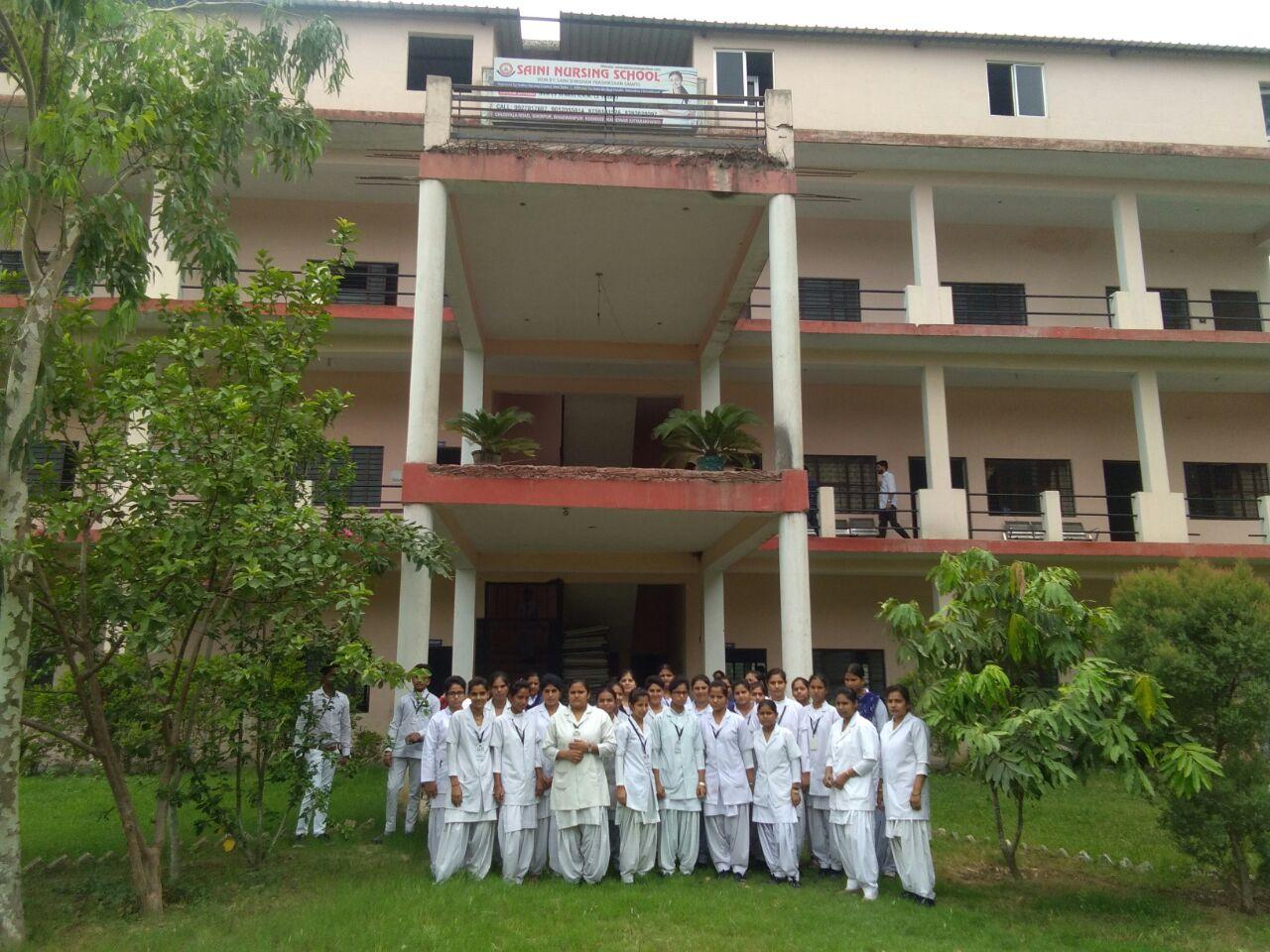 Saini Nursing School Image