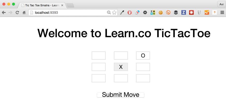 Web Tic Tac Toe