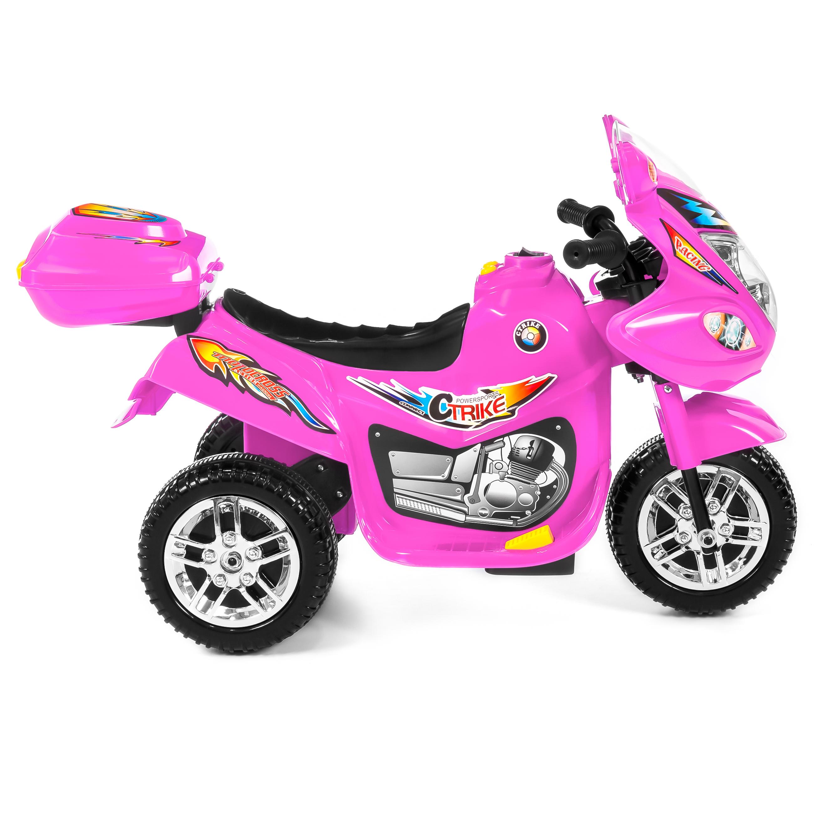 BCP-6V-Kids-3-Wheel-Motorcycle-Ride-On-Toy-w-LED-Lights-Music-Storage thumbnail 26