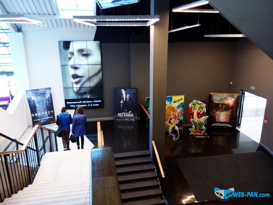 Силверскрин-Галилео спуск в холл кинотеатра, мобайлеры, постеры, экраны и установки рекламные новых фильмов! Фото 1