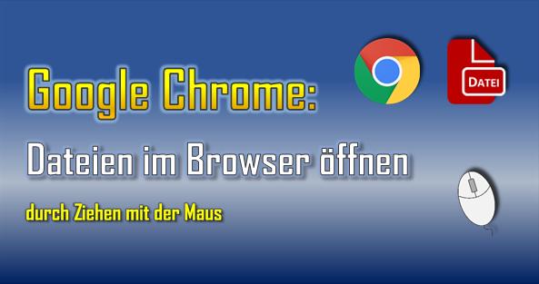 Der Browser Google Chrome kann mit zahlreichen Formaten wie Videos, Bilder, Grafiken und Text-Formaten umgehen.