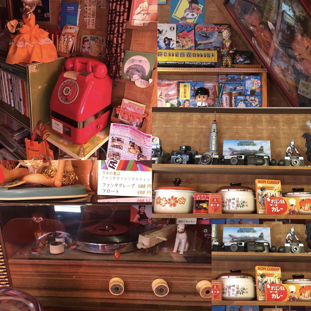 昭和の雑貨が盛り沢山