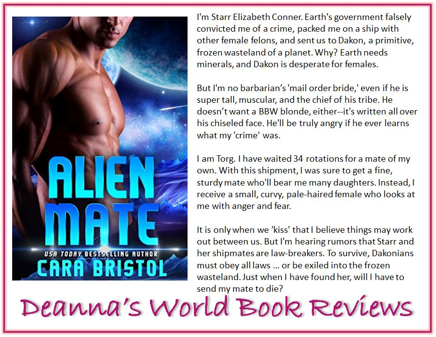 Alien Mate by Cara Bristol blurb