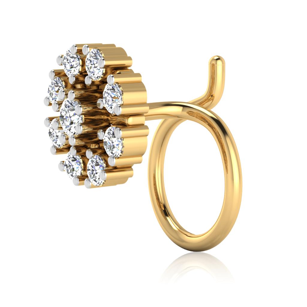 The Trisha Diamond Nose Pin