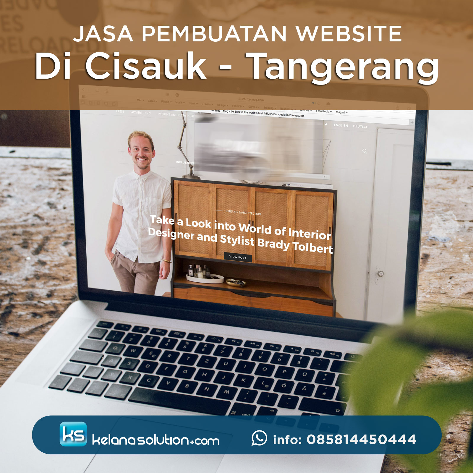 Jasa Pembuatan Website di Cisauk Tangerang
