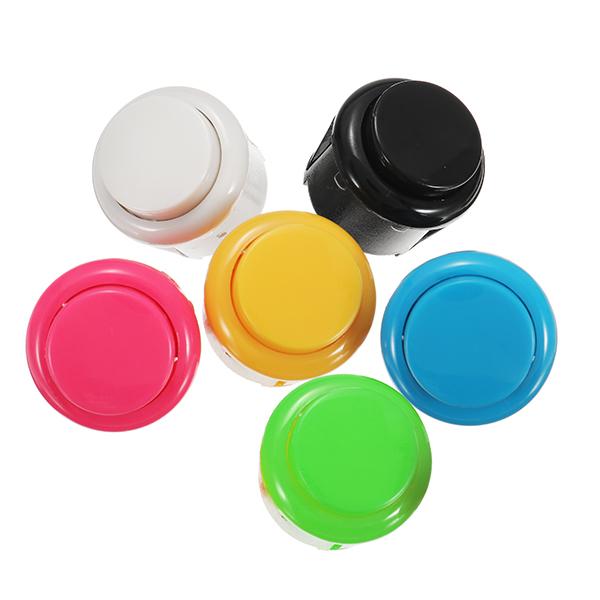 Arcade Amp Pinball Machines 24mm Push Button For Arcade