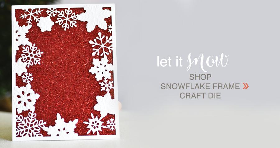 shop Snowflake Frame Craft Die