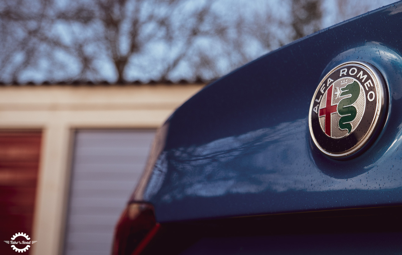 Celebrating Alfa Romeo's 110th anniversary with the Giulia Veloce