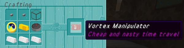 Vortex Manipulator crafting recipe
