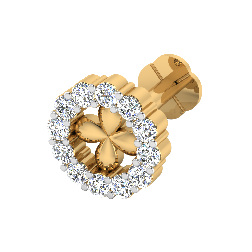 The Eshita Diamond Nose Screw