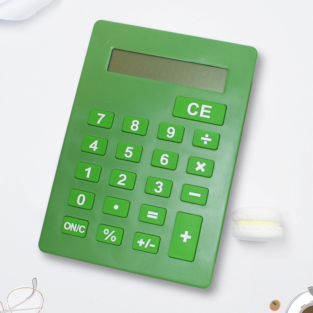 Jumbo Calculator Large Size Display Green